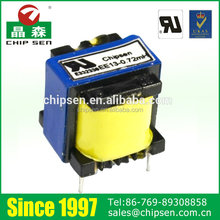 EE Type 3w-200w UL compliant High Voltage High Frequency Transformer used in electronics projects