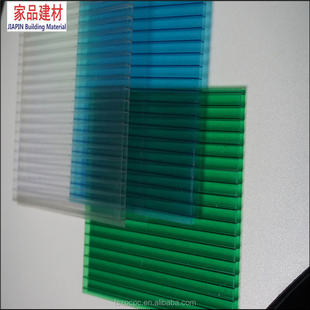 6mm Hollow Polycarbonate Sheet