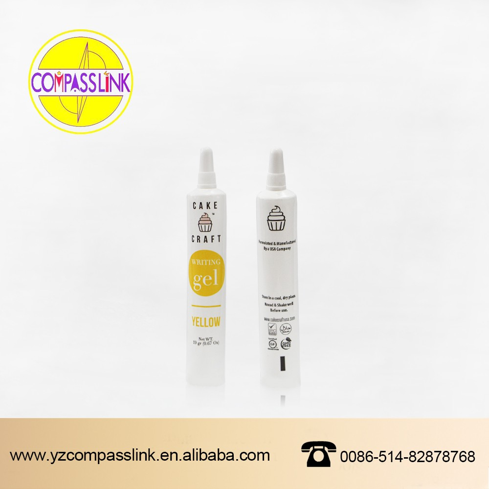 disposable plastic cosmetic packaging tube 10ml