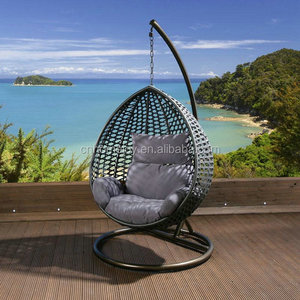 Factory price cheap hanging rattan egg chair