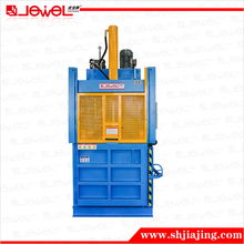 CE Certified vertical hydraulic plastic film baling press machine