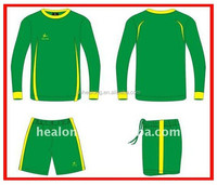 big size soccer jerseys,yellow and green jerseys and shorts