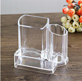 Acrylic Clear Cube Makeup Organizer, Plastic Injection Makeup Brush Holder