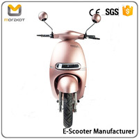 2016 Morakot Fashionable Design Vintage Style High Quality LED Light 60V800W Electric Scooter/Motorcycle BP15