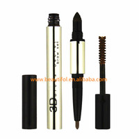 2017 new 3D eyebrow pencil waterproof +eyebrow powder long lasting +brush made by JMcosmetics