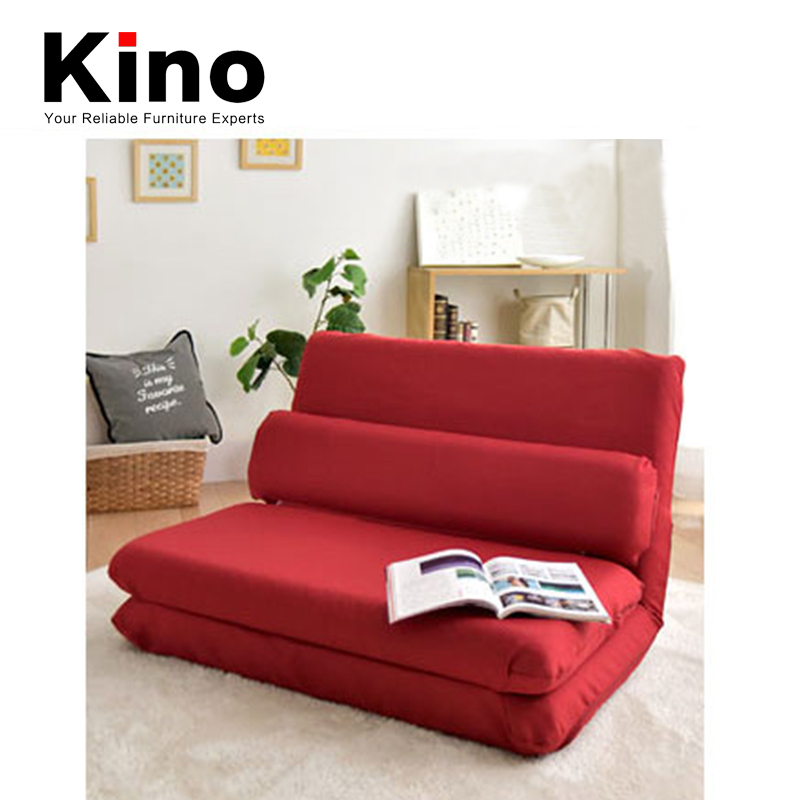 New Modern Floor tatami design recliner sofa floor sofa bed for home furniture, Red