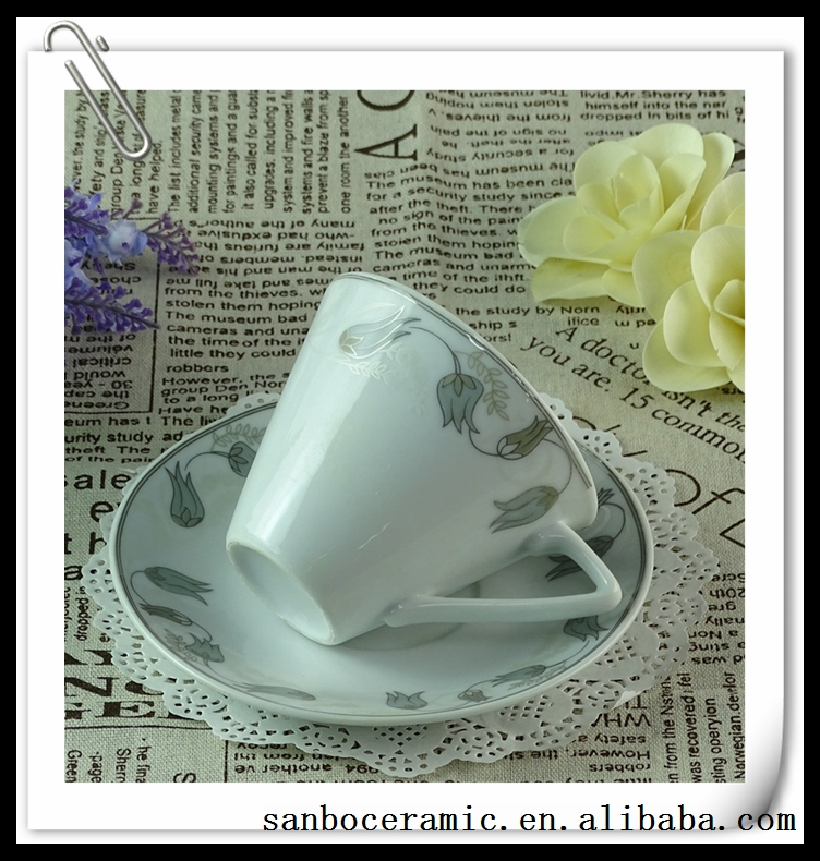 200ml Tea Cup Saucer Packaging,Keep Cup Coffee Cup Plate Set