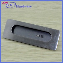 Good quality zinc alloy material recessed pull handle , flush pull handles