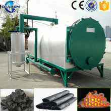 2017 new non-smoke charcoal retort kiln/biochar making machine for sale