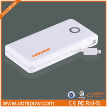 Portable Travel Polymer 7000mAh Universal Power Bank For Smartphone