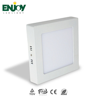 3 Years Warranty SMD2835 50000Hrs Lifespan Square 12W Surface Mounted Panel Light Led
