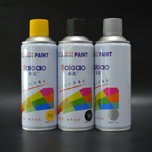 Aerosol type general purpose saigao excellent adhesion and durability white acrylic paint