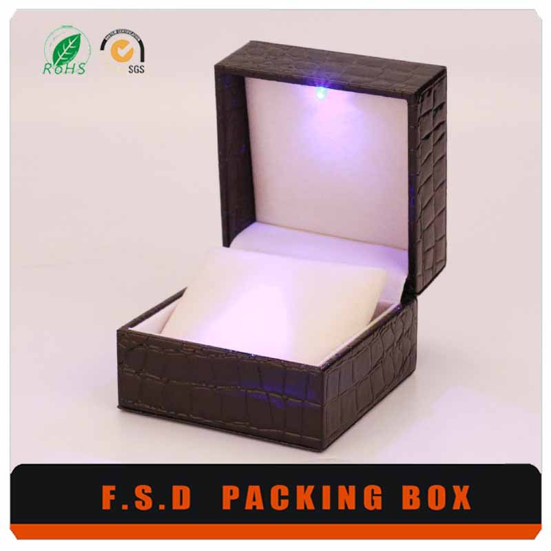 The Latest Design Handmade Mens Watch And Jewelry Box
