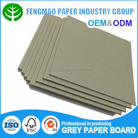 grey chip board duplex carton box board in different size