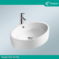 bathroom cheap ceramic sink , hot sale item KD-45AB