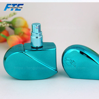 25ml Heart Shape Perfume Bottle Refillable Travel Mini Atomizer Spray Pump perfume bottle