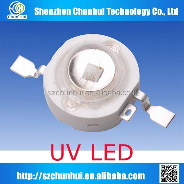 smd 3w uv led 365nm