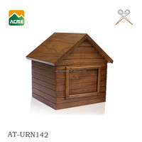 luxury cremation pet wooden urns supplier