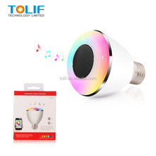 Smart Bluetooth Music LED Lighting! E27 B22 Bluetooth LED Light Bulb/Bluetooth RGB LED Light Bulb/Bluetooth LED light Home