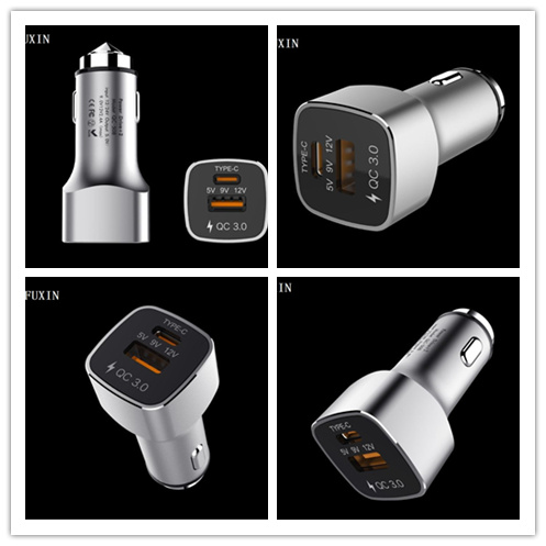 Factory OEM Private Model hot sales with good quality quick phone charger QC 3.0 USB fast car charger