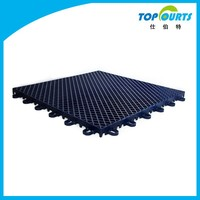 Indoor and outdoor colorful temporary plastic flooring