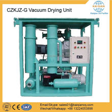Dry Air Vacuum Oil Filtering Machine