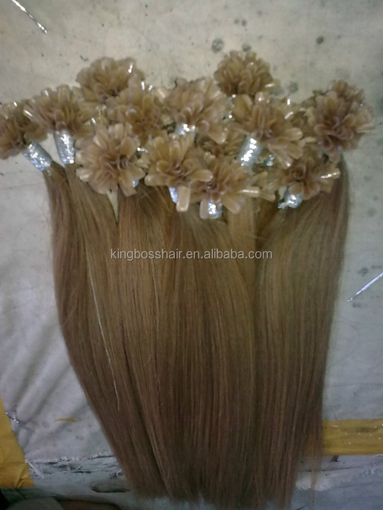 Factory direct sale people best love preboonded human hair extensions