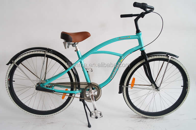 Feichi jianma Single Speed alloy Men Beach Bike 28 inch cruiser bicycle