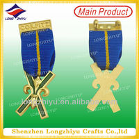 2014 Sweden 3D Masonic Medal Metal