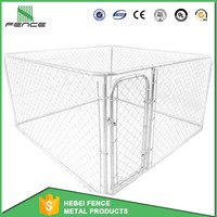 Outdoor Iron Fence Dog Kennel / Dog Run Panel / Dog Kennel Fence