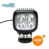 5inch 3500lm spot light led truck 40w spotlight for off road car truck