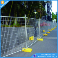 Temporary fence/ mobile fence netting / non fencing wire mesh fence