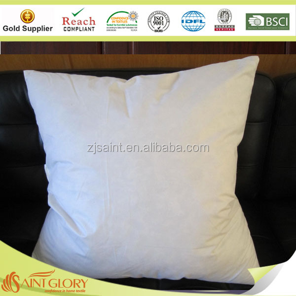 "22x22"" home sofa feather and down cushion inserts"