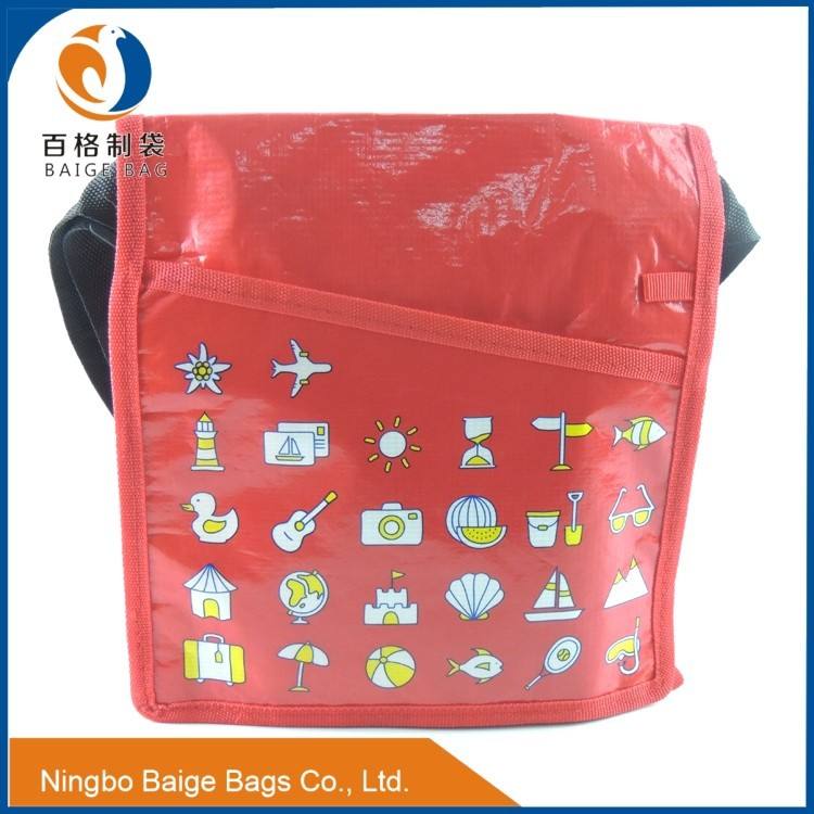 china manufacture luxury & elegant christmas recyclable wine cooler bag