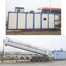 Container Skid-mounted Type Mobile CNG Filling Station