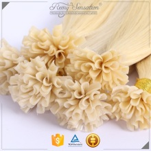 Highest quality Italian keratin bond 1g U tip/Nail tip hair extensions wholesale price