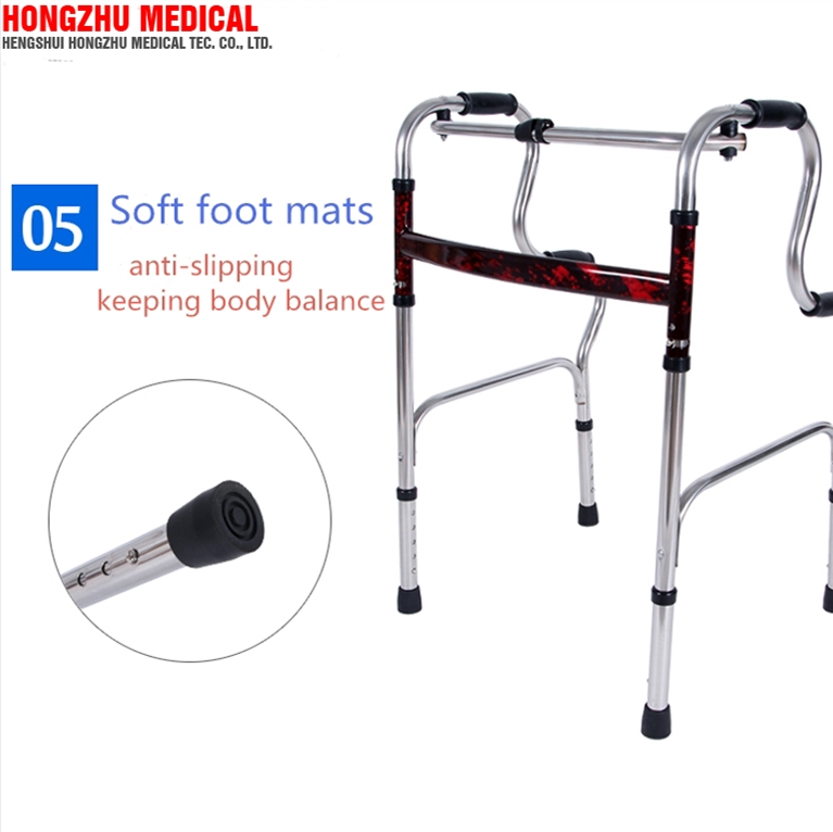 Lightweight medical elderly care disability rollator different types of walker