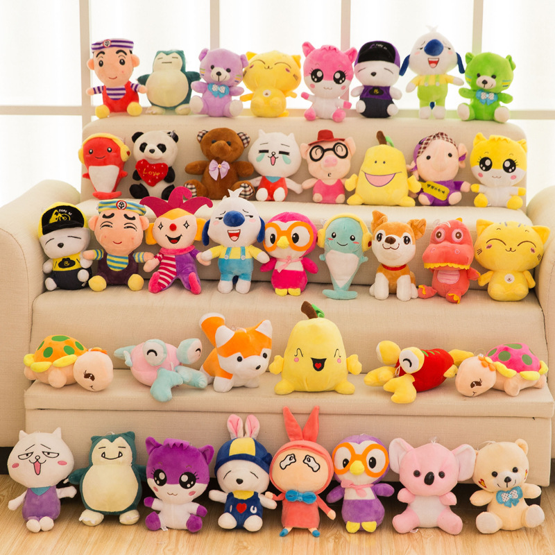 New Vending machine plush toy cheap stuffed toys for crane machine plush toy filling machine