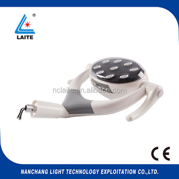 Oral Therapy Equipment Dental Chair LED lamp with 9 led bulbs for dental use