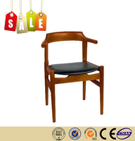 Restaurant chair leather cushion solid wood chair alibaba express on sale