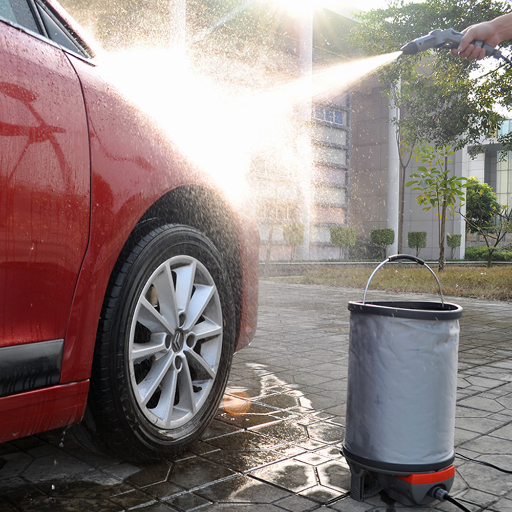 Portable mini car washing machine with car wash water spray gun,washing machine parts,car wash supplies wholesale china