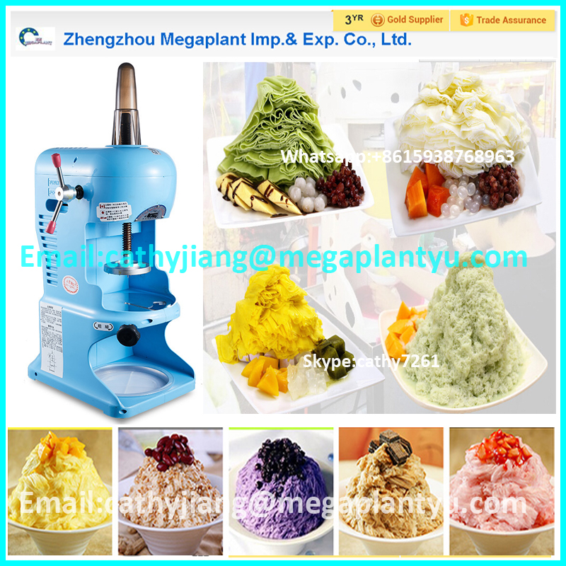 Manual Operation Ice Snow Crusher/Ice Snow Grinding Machine for pieces