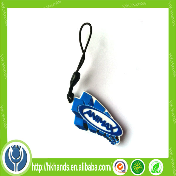 custom cheap double-sided PVC keyring for promotion gift