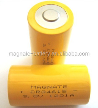 D size Lithium battery 3.0v 11ah for emergency light