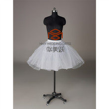 Girls Underskirt Hot Sale Charm White Crinoline Gown Dress Tulle Sexy Short Tutu Petticoats HMY-PPT013