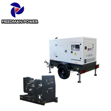 Weichai ricardo70 kva 3 phase brushless with silent canopy diesel generator set
