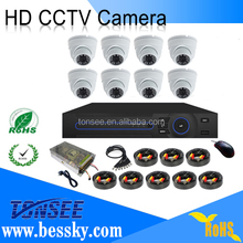 1080P hd security camera cctv camera kit 8ch ahd dvr kit 1PC 12V/10A Power for Cameras with DC Plug and 1 PC 1-8 Splitter Cable