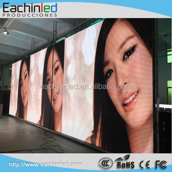 Gas price/promotion price p6 indoor rental led display with linsn card control system