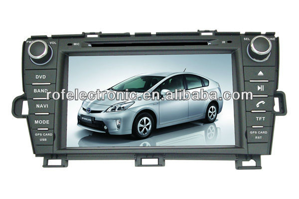 car dvd player for TOYOTA PRIUS left driving 2009-2012