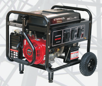 Portable Open Frame Generator BH7500E at power 6kW